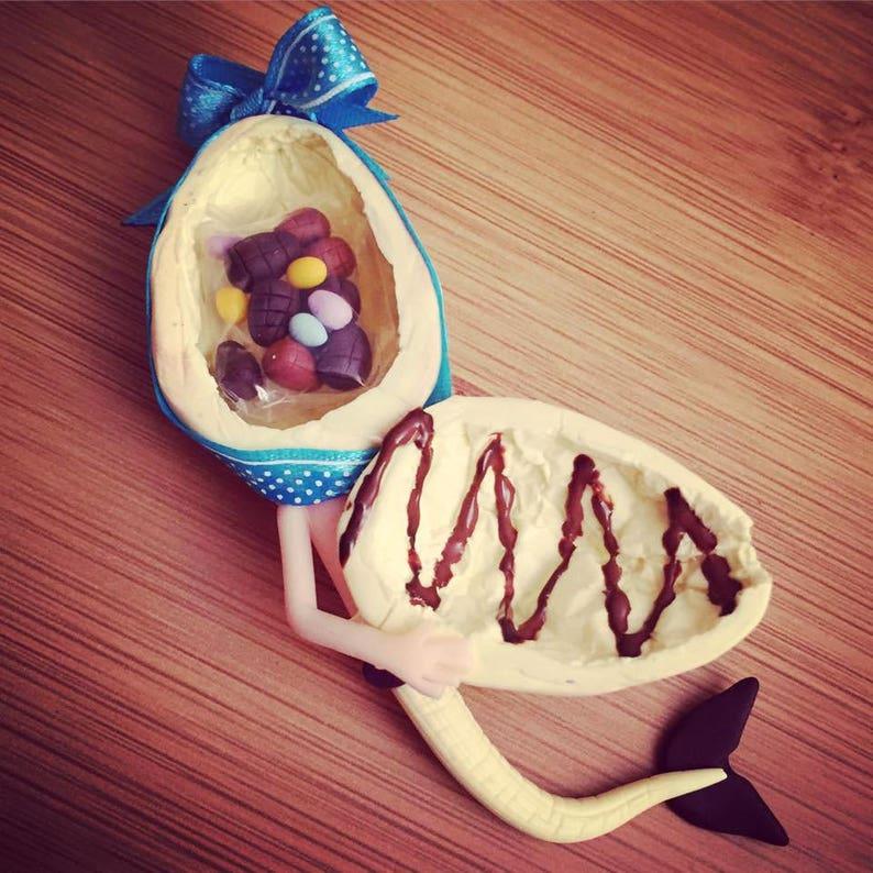 Full of chocolate Easter egg Mermaid image 0