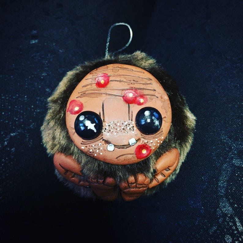 Toothless Brown Monster Christmas ornament image 0