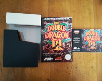 "Complete package ""DOUBLE DRAGON 3"" NES - french"