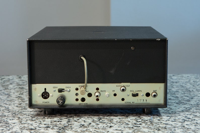 Vintage Drake SPR-4 Shortwave Radio SSB CW Receiver serial #1711 - Needs  Restoration