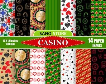 9cb311a826d07 Casino scrapbook | Etsy