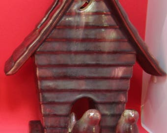 Royal Haeger Bird House Vase