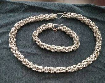 various style chainmaille jewelry