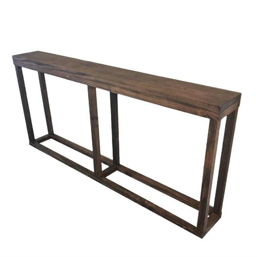 Long Sofa Table: Long Console Table / Narrow Console Table / Skinny Console