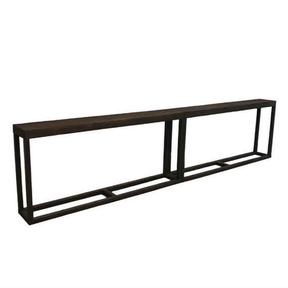 Extra Long Console Table Combo Extra Long Sofa Table Narrow Etsy