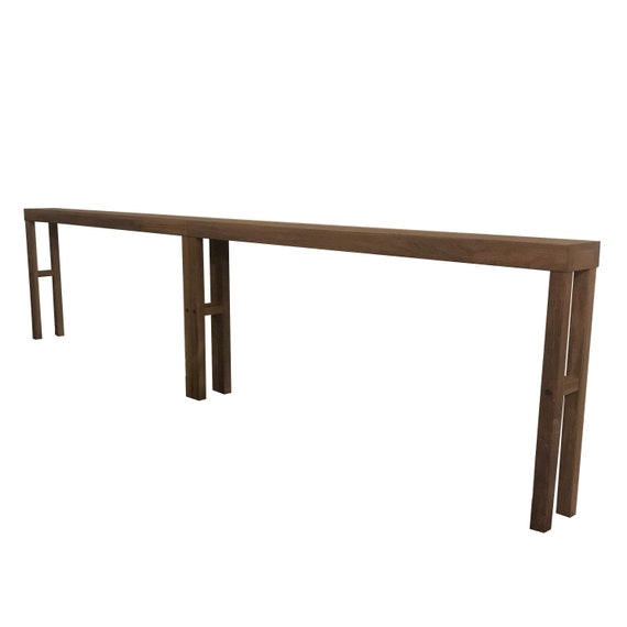 Extra Long Console Table Combination Connecting Sofa Tables Etsy