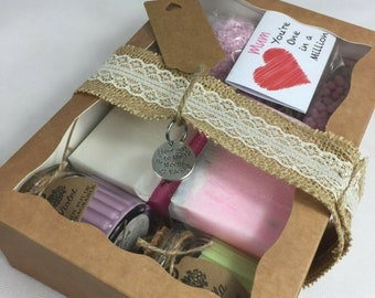 Mum In A Million Sweets Mothers Day Hamper For Her Birthday Gift Basket Charm