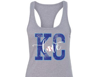 Kansas City Royals Tank, KC Royals Shirts, Royals Tank Tops, Royals Shirts Women, KC Royals Tanks, Royals Shirt, Womens Royals Clothing