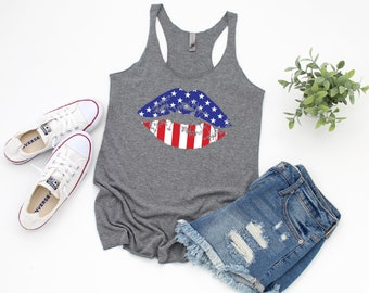 27e220377ab37f 4th of July Tank Top