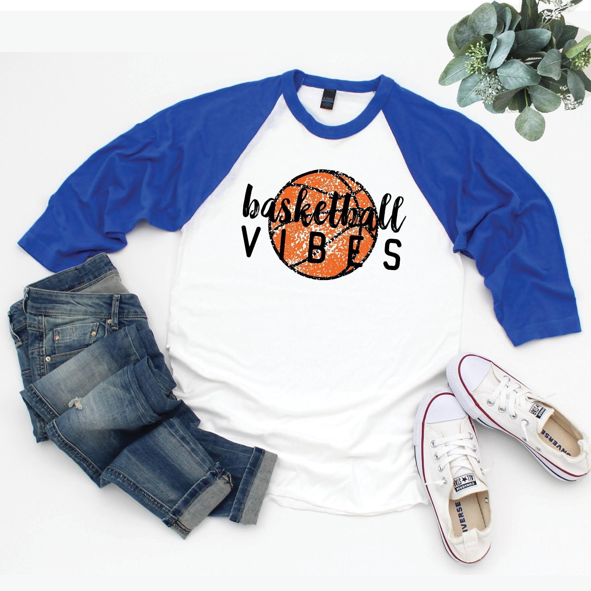 Basketball Shirt Basketball Mom Shirts Basketball Vibes Tshirt Women Basketball Shirts For Women Basketball Coach Gift Basketball Gift Unisex Tshirt