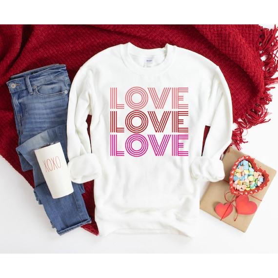 XOXO Valentines Galentines tee Sweatshirt