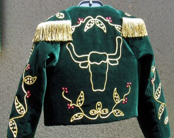 Bolero, salvaged from the Landes costume, jacket, only children 4-10 years