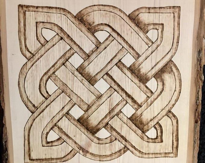 Celtic Design On Basswood