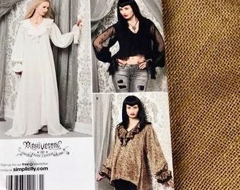 7d2f91897e Goth gown pattern