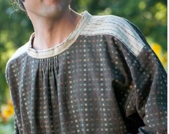 "NEW Folkwear #148 Black Forest Smock/Dress/Kittel Paper Sewing Pattern For Men and Women  Size Mens 36"" - 44"" // Womens 6 - 16 // UNCUT"