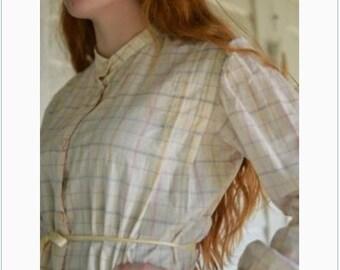 NEW Folkwear #216 1907 Women's Schoolmistress Shirtwaist Blouse and Short and Long Skirt Paper Sewing Pattern / / Women's 8-14 / UNCUT
