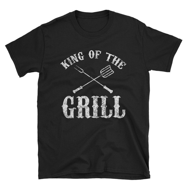49928f1e Funny BBQ Shirt Barbecue King of the Grill T Shirt Gift | Etsy