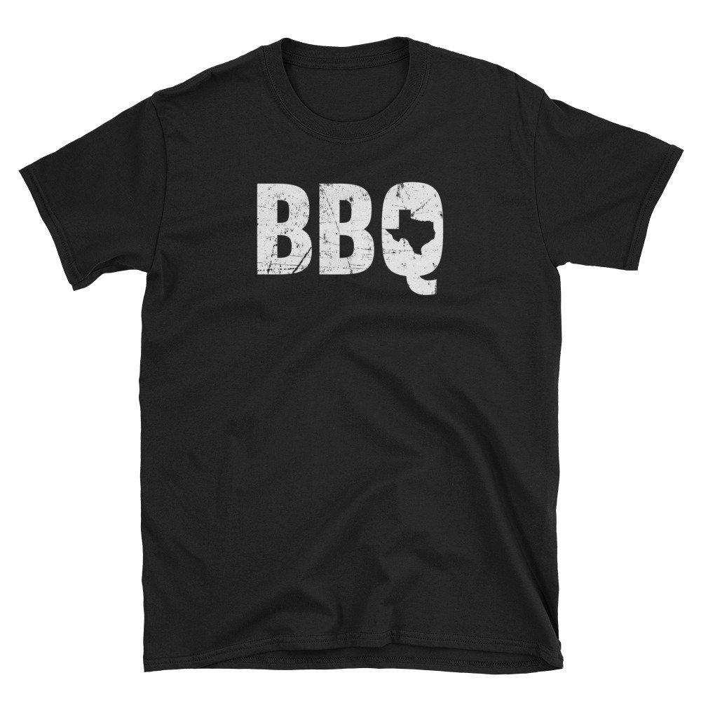 I Love BBQ Texas Dallas Houston Grill Barbeque Short-Sleeve  T-Shirt