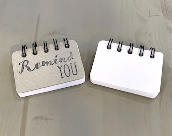 Remind You | Blank Booklet | Made to Order | All Occasion Gift | Christmas | Jesus | Inspirational