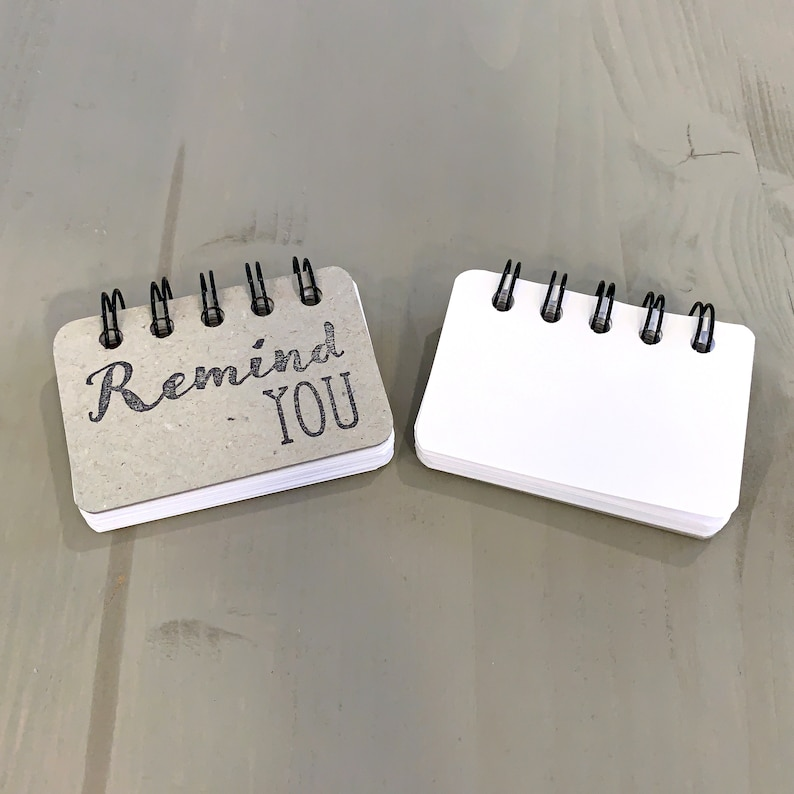 Remind You  Blank Booklet  Made to Order  All Occasion Gift image 0