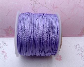 Purple colored nylon thread