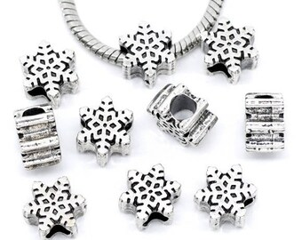 10 pearls snowflake Christmas