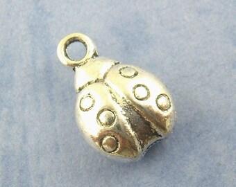 Ladybug charm pendant