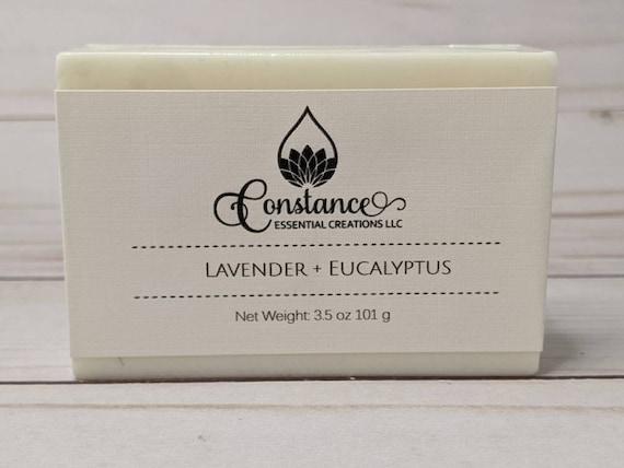 Lavender + Eucalyptus Bath Bars