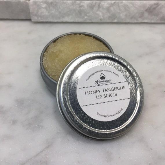 Edible lip scrub Vanilla Orange and Honey Peppermint