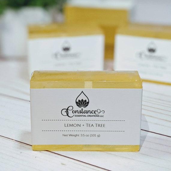 Lemon + Tea Tree Bath Bar