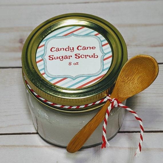 Candy Cane Sugar Scrub 8oz