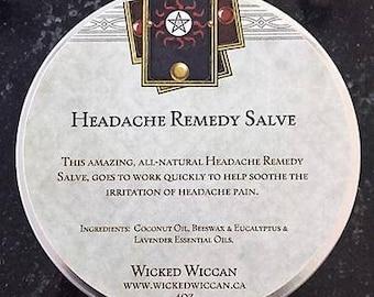 Headache Remedy Salve