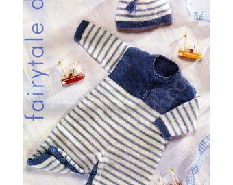 DK  - Playsuit and Hat set   (0 to 3 years)
