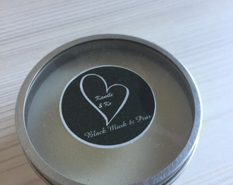 Travel Tin Hand Poured Soy Candle