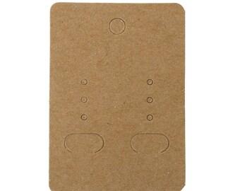 AU57 - Set of 10 note cards displays jewelry 7 x 5cm