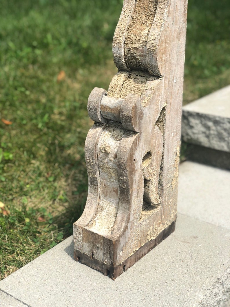 Antique Tall and Heavy Architectural Salvage Corbel