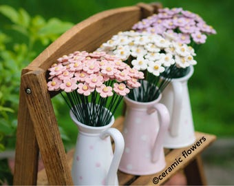 Ceramic Strawberry flower