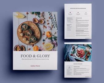 Ebook Template Etsy - Ebook cookbook template