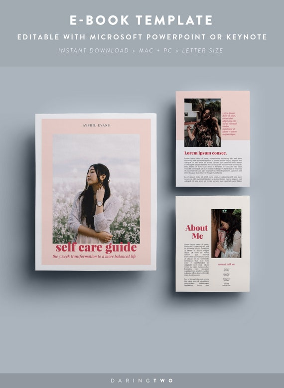 V5 Ebook Template 16 Pages Fully Editable Customizable Etsy