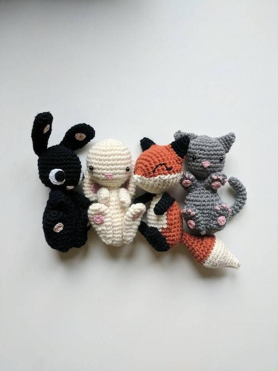 Amigurumi Paket Häkelanleitungen 5 für 4 Baby Tiere | Etsy