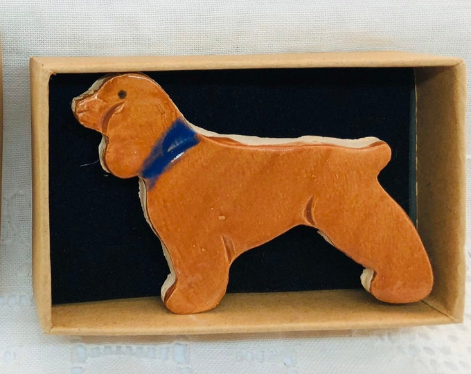 Dog Brooch, Cavalier King Charles Spaniel, Cocker Spaniels, Love Dogs, Pooch, Pet, Woof, Gift for her, Christmas, Anniversary, Birthday.