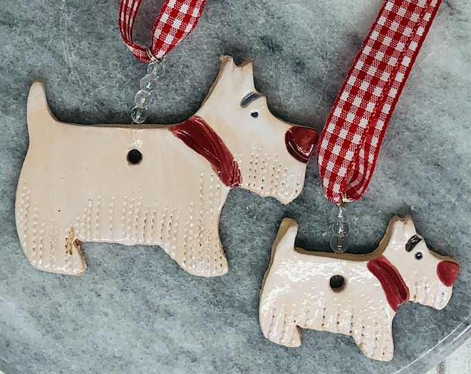 West Highland Terrier Ceramic Dogs, Westie Pottery Pet Pooch, Dogs, Love Dogs, Anniversary, Birthday, Gift for her, him, Fathers Day.