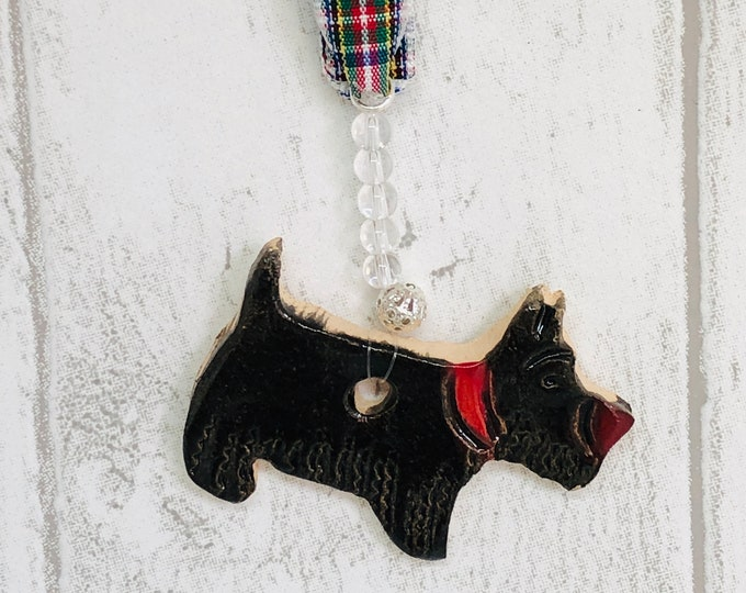 Scottie Dog, Scottish Highland Terrier, Handmade Pottery Dog, Dogs, Birthday, Anniversary, Gift for her, Him, Love Dogs, Easter, Fathers Day