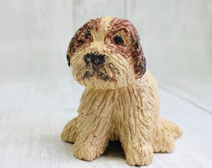 Dog Miniature Pottery Sculpture, Handmade Sussex Ceramics UK, Dogs, Mini Dogs, Pooch, Gift for her / him, Christmas, Birthday, Anniversary.