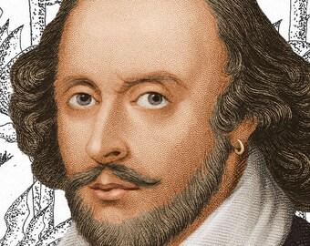 William Shakespeare Print
