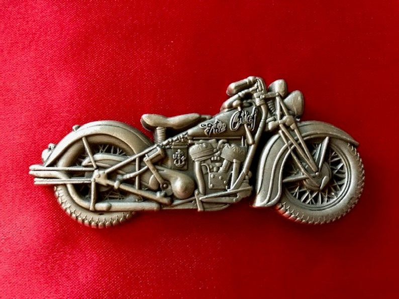 410cbbe0679b USN Navy Chief Indian Motorcycle Antique Challenge Coin CPO
