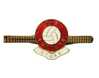 Birmingham City England Flag Gold-tone Tie Clip