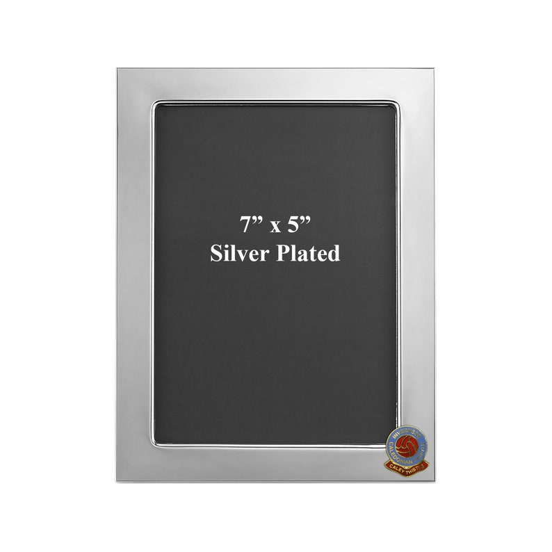 Inverness Caledonian Thistle football club silver plated photo frame
