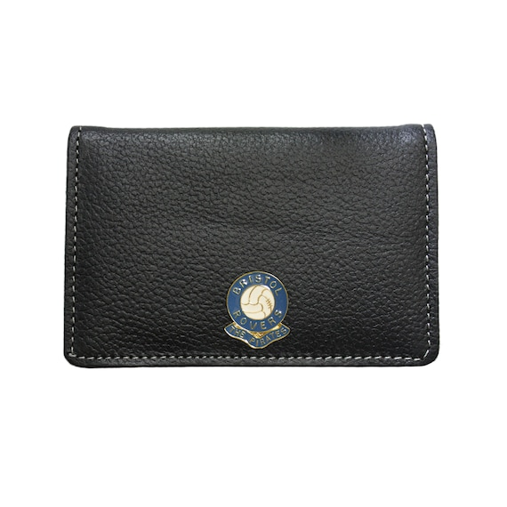 Notts County football club leather card holder wallet