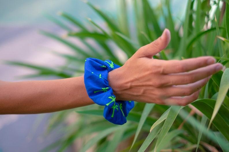 Hair elastic Scrunchie Palms